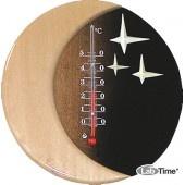 """Термометр бытовой Д-15 (0+50) """"Звездная ночь"""" основание дерево"""