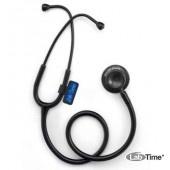 Стетоскоп LD Medic BLACK MATT двухголовочный, для врачей и сред.медперсонала