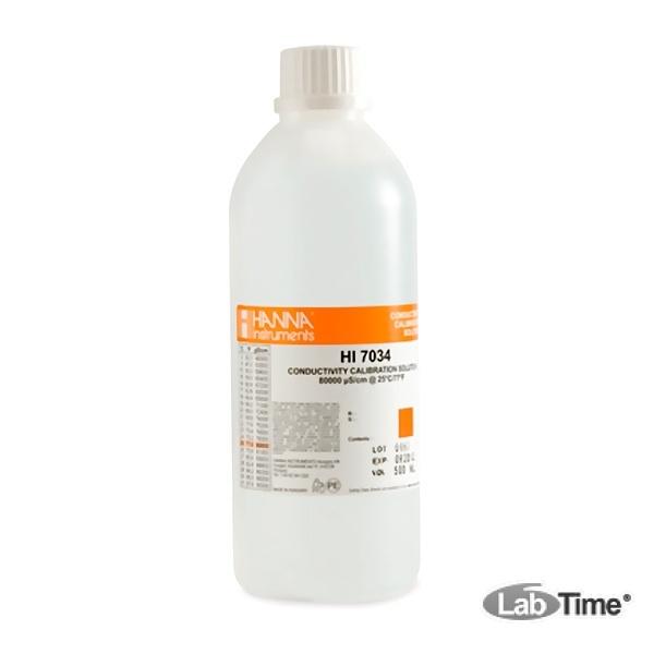 HI 7034M Раствор калибровочный 80000 мкСм/см (230мл)