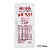 HI 70004C Раствор калибровочный рН:4,01 упак. 25 шт. по 20 мл c сертификатом