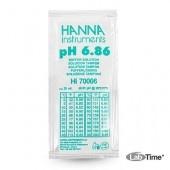 HI 70006P Раствор калибровочный рН:6,86 упак. 25 шт. по 20 мл