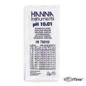 HI 70010C Раствор калибровочный рН:10,01 упак. 25 шт. по 20 мл с сертификатом