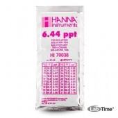 HI 70038P Раствор калибровочный 6.44 г/л, упак. 25 шт. по 20 мл