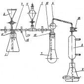 Аппарат д/отгонки аммиака при опр.белка ГФ.2.784.223 (1198)