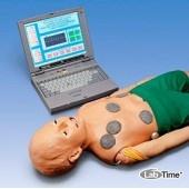 Интерактивный манекен ребенка пяти лет для педиатрической реанимации, с компьютером