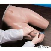 Тренажер для внутримышечных инъекций, ягодица