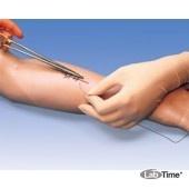 Тренажер для упражнений накладывания швов, рука