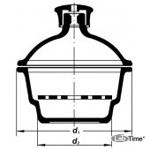 Эксикатор без крана 2-240 мм