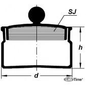 Стаканчик для взвешивания СН-60х40(бюкс)