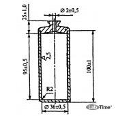 Пикнометр П-1 для определения плотности цементного раствора по ГОСТ 26798.1
