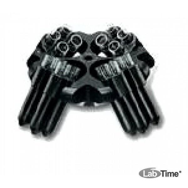 Ротор затухания 16х15 мл в составе: ротор 11030, 4 стакана 13020, 16 пробирок 15020