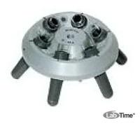 Ротор угловой 6х15 мл со стаканами 13011для пробирок 15015, 15020, 15023, 15024, 15115 и 6 реакц.с.