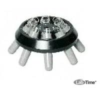Ротор угловой 8х15 со стаканами 13011 для пробирок 15015, 15020, 15023, 15024, 15115 и 6 реакц.с.