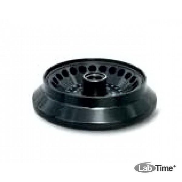 Ротор угловой алюминиевый с герметичной пластиковой крышкой, 24х1,5-2,0 мл для пробирок