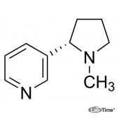 Никотин-(-), жидкий, ≥ 99% (ГХ), 25 мл (Sigma)