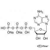 Аденозин 5'-трифосфорной кислоты динатриевая соль, д/биохимии, 100г (Appli)