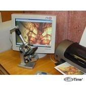 Микроскоп Юннат 2П-1 Видео, с подсветкой (80х-400 х)