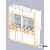Шкаф вытяжной ЛАБ-1800 ШВ-Н (керамика)