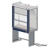 Шкаф вытяжной ЛАБ-PRO ШВ 120.80.225 SSW (нержавеющая сталь со сливной раковиной)