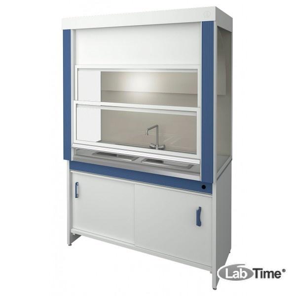 Шкаф вытяжной для мытья мосуды ЛАБ-PRO ШВ 150.72.225 2П (2 чаши, полипропилен)