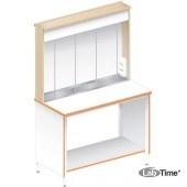 Стол для титрования ЛАБ-1200 ТЛ (ламинат)