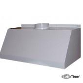 Зонт вытяжной пристенный ЛАБ-PRO ВЗ 100.50.45 П (металл)