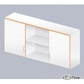 Шкаф навесной с 2 дверкамиЛАБ-1500 НШ-2 (меламин)