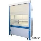 Шкаф приточно-вытяжной с дрен. системой для работы с дымящими кислотами ЛАБ-PRO ШПВК 120.90.260 (ПП)