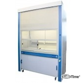 Шкаф приточно-вытяжной с дрен. системой для работы с дымящими кислотами ЛАБ-PRO ШПВК 150.90.260 (ПП)