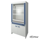 Шкаф вытяжной для работы с ЛВЖ ЛАБ-PRO ШВЛВЖ-ТО 120.75.225 F20 (FRIDURIT 20мм)