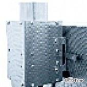 Труба вытяжная с вентилятором для лучшего отвода отработанных газов