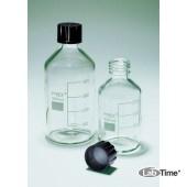 Бутыль для реагентов с крышкой, 1000 мл 1 шт/упак