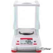 Весы OHAUS AX423/E (2100/0.001г/d130), внеш.калибровка