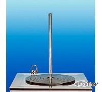 Стойка штативная из нержав.стали, диам.12 мм, выс. 316 мм