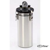 Анаэростат 3 л, standard, на 15 чашек Петри диам. 60-100 мм, нерж. сталь, Schuett