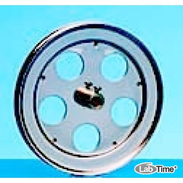 Зажим круглый с отверстиями для сосудов гибридизации