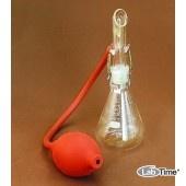 Распылитель (пульверизатор) для ТСХ стеклянный с колбой 100 мл, Camag