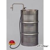 5603-1100 Насос для растворителей ножной, глубина погр. 95 см, 30 л/мин, сливная трубка
