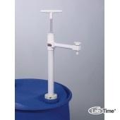 5606-0600 Насос для бочек Ультрапур (Ultrapure) ПТФЭ, сливная трубка, глубина погр. 60см, 270мл/такт