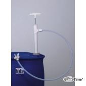 5606-1001 Насос для бочек Ультрапур (Ultrapure) ПТФЭ, сливная гибкая трубка, глубина погр. 95см, 400