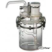 Средоварка ручная Agarfill 25S (2,5 литра) с дозатором на 1-50мл среды