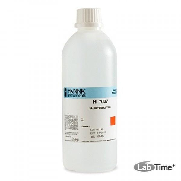 HI 7037L Раствор калибровочный NaCl (460мл)