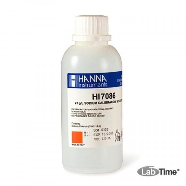HI 7086M Раствор 23 г/л Na (230мл)
