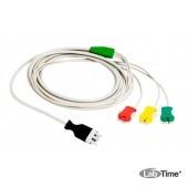 SavePadsPlus cable II кабель, 2-полюсной для подключения клеящихся дефибрилляционных электродов Save