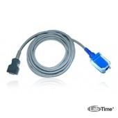 SpO2 -кабель пациента ( 2,4 м ) для подключения SpO2-датчика, устойчивый к натяжению