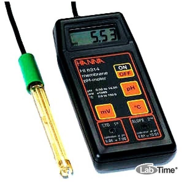 HI 8314 pH-метр портативный с рН-электродом (pH/mV/T)