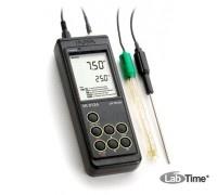 HI 9124 рН-метр портативный влагонепроницаемый (pH/T)